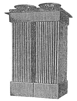 3,tpf型圆筒式空气换热器简介       tpf型圆筒式空气换热器结构紧凑